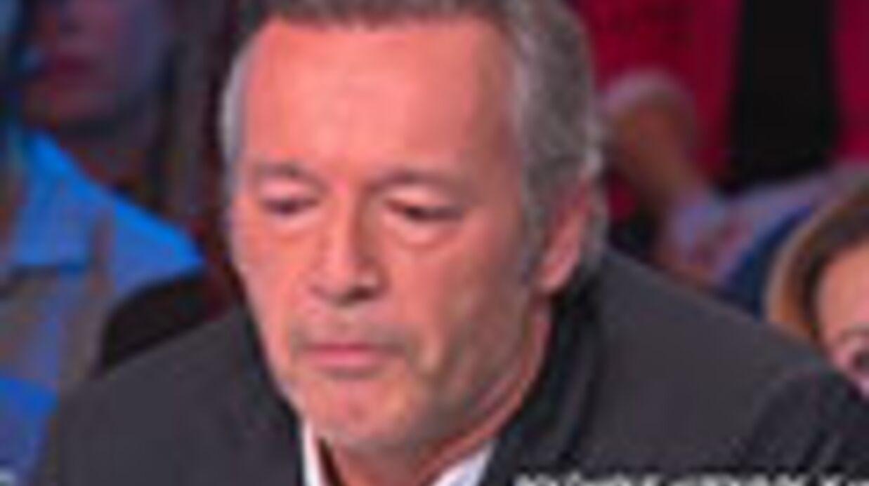 VIDEO Les larmes de Jean-Michel Maire face à la femme avec qui il a dérapé en direct