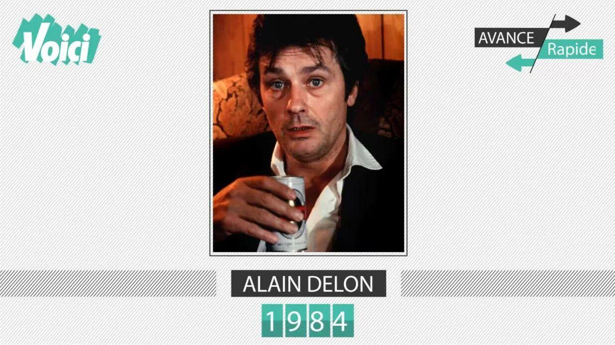 VIDEO Alain Delon a 81 ans: son évolution physique en une minute