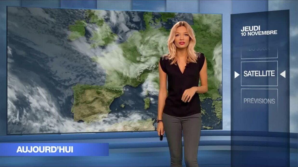 Une dauphine de Miss France présente la météo sur M6