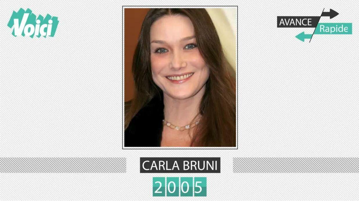 Carla Bruni a 49 ans: son évolution physique en une minute