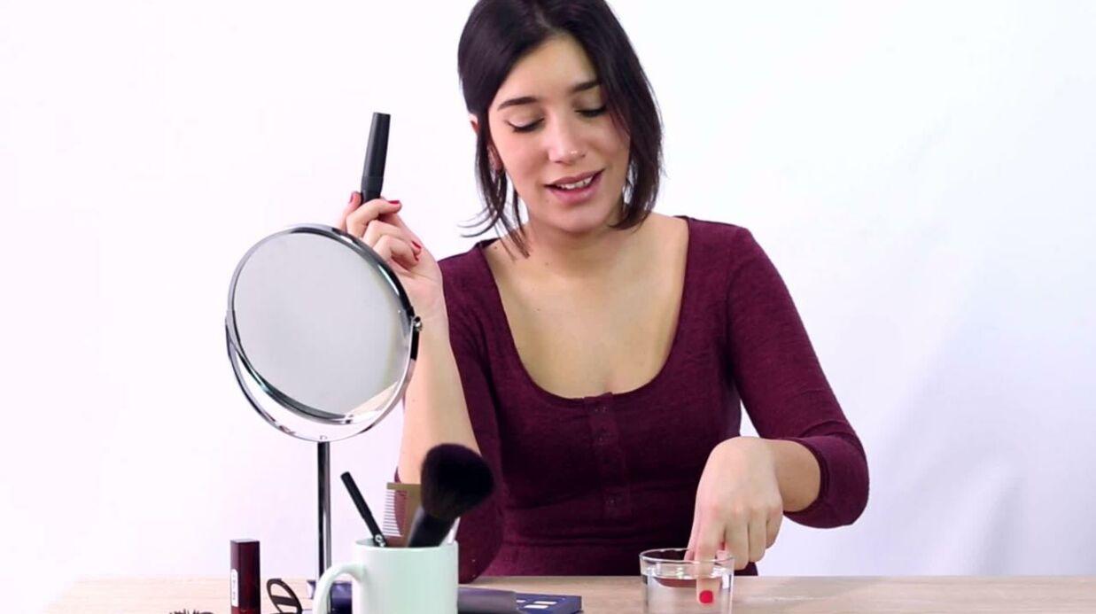 VIDÉO comment redonner vie à un mascara desséché?