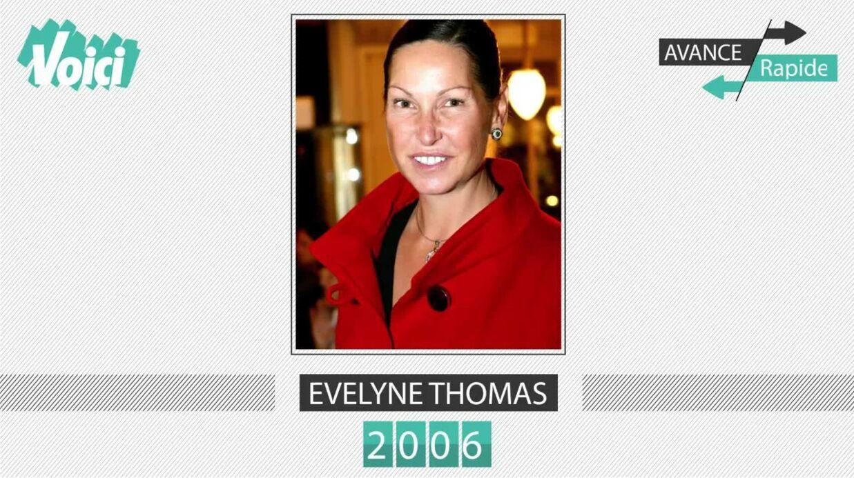 Evelyne Thomas a 53 ans: son évolution physique en une minute