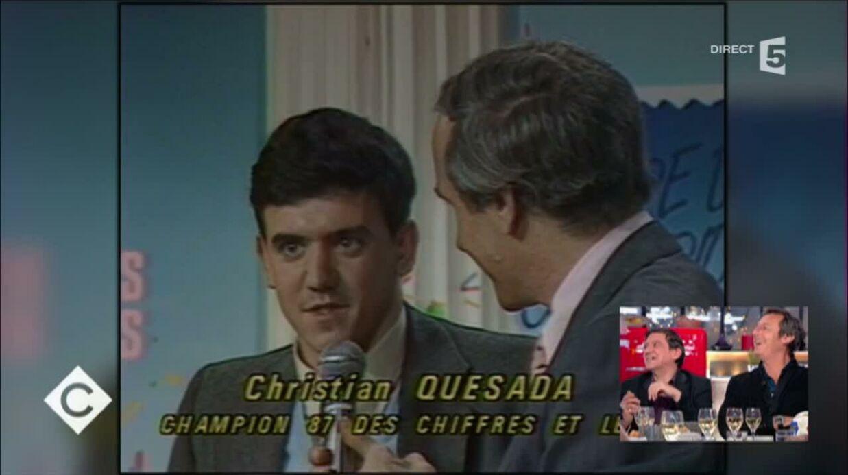 VIDEO Jean-Luc Reichmann surpris en découvrant Christian (Les 12 coups de midi) en 1987
