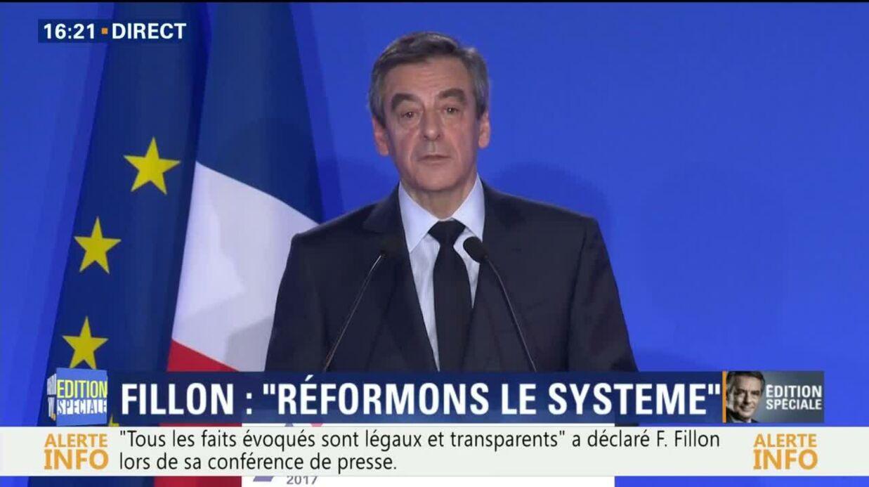VIDEO François Fillon révèle toute l'étendue de son patrimoine
