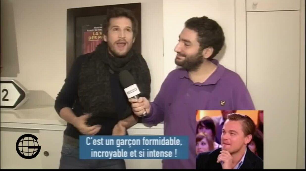 VIDEO Guillaume Canet demande en direct à Leonardo DiCaprio s'il a couché avec Marion Cotillard