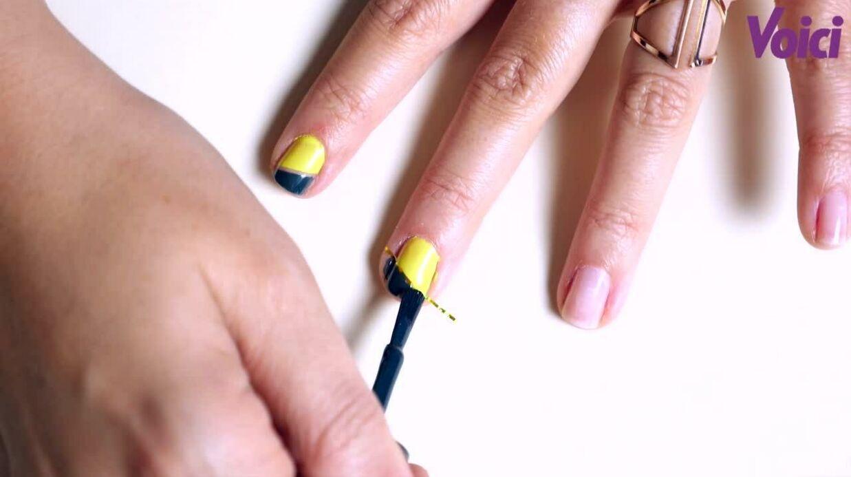 VIDEO Le tuto de Ludivine: le nail art graphique pour les nulles