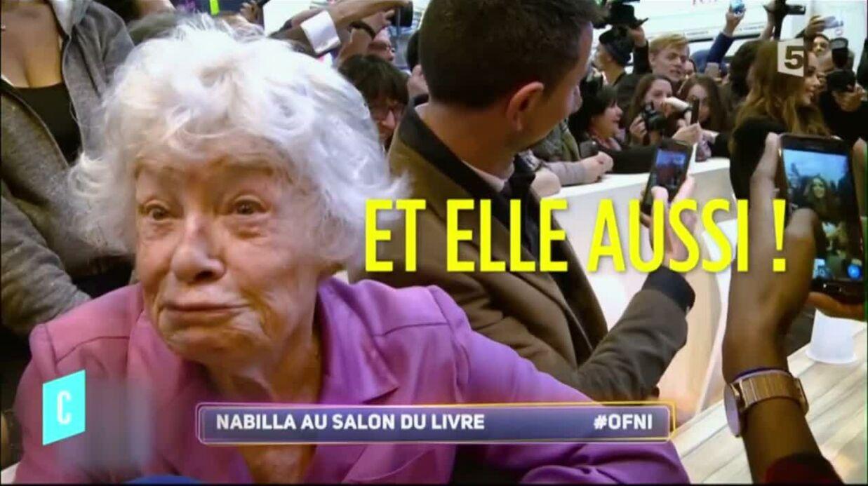 VIDEO Claude Sarraute imite Nabilla sur le plateau de C L'Hebdo