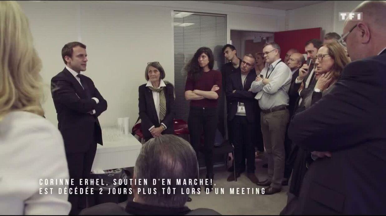 VIDEO Emmanuel Macron très ému en rendant hommage à la députée Corinne Erhel, décédée en le soutenant