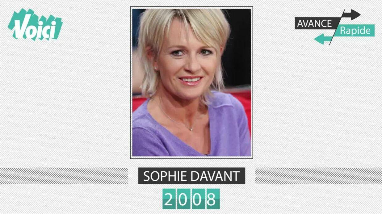 VIDEO Spécial 30 ans de Voici – Sophie Davant: son évolution physique en une minute