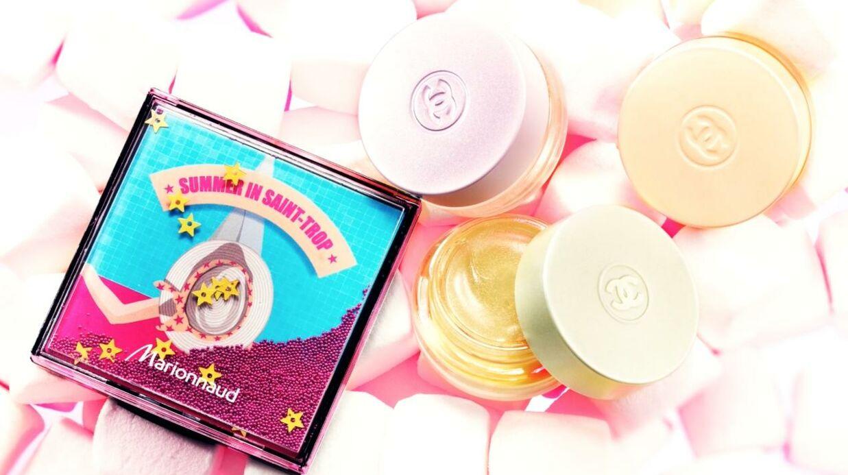 Nos beauty crushs: la palette Summer in Saint-Trop de Marionnaud et les crèmes Chance Three Moods de Chanel