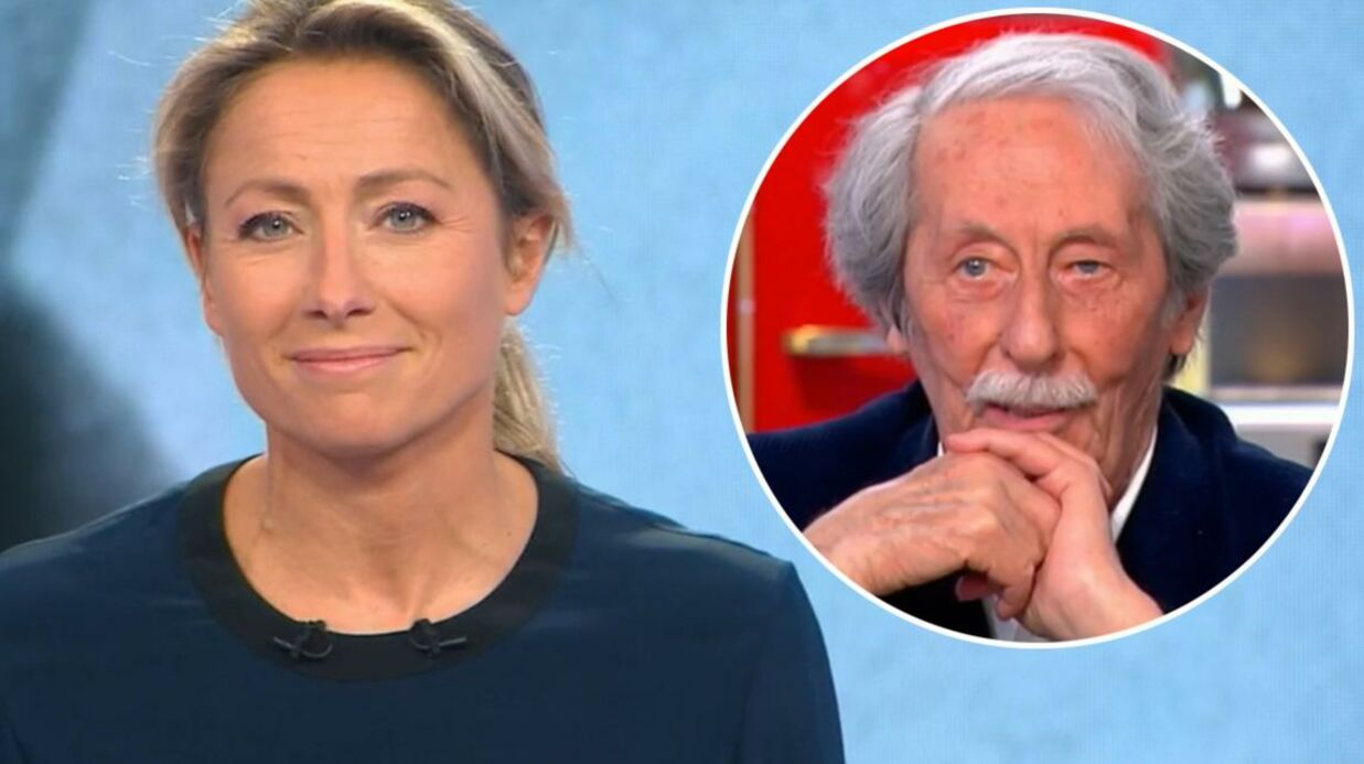 VIDEO Anne-Sophie Lapix embarrassée par l'hommage à Jean Rochefort dans son JT