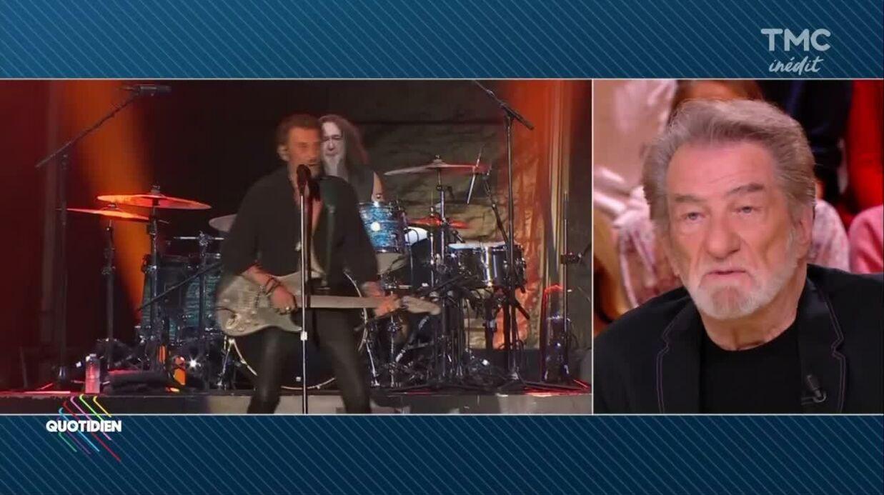 VIDEO Eddy Mitchell évoque le caractère de battant de son «frère» Johnny Hallyday