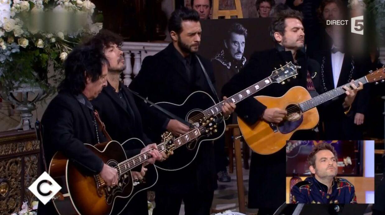 VIDEO Mort de Johnny Hallyday: Matthieu Chedid revient sur sa prestation rock'n'roll à l'église de la Madeleine