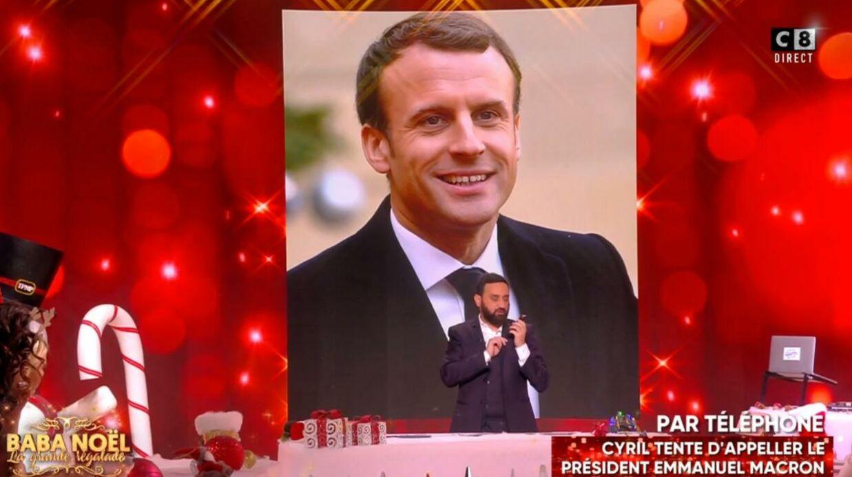 Emmanuel Macron: son coup de fil en direct avec Cyril Hanouna était en réalité planifié