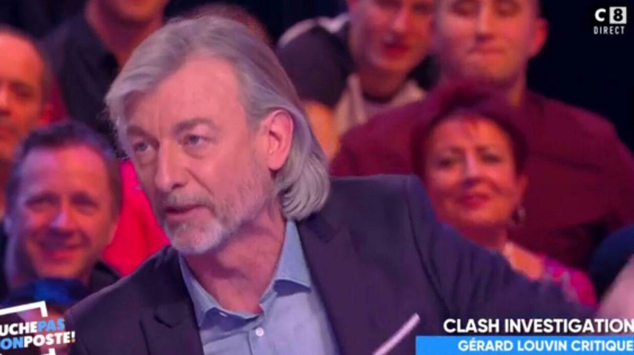 VIDEO Gérard Louvin critique TPMP, la réponse acerbe de Gilles Verdez