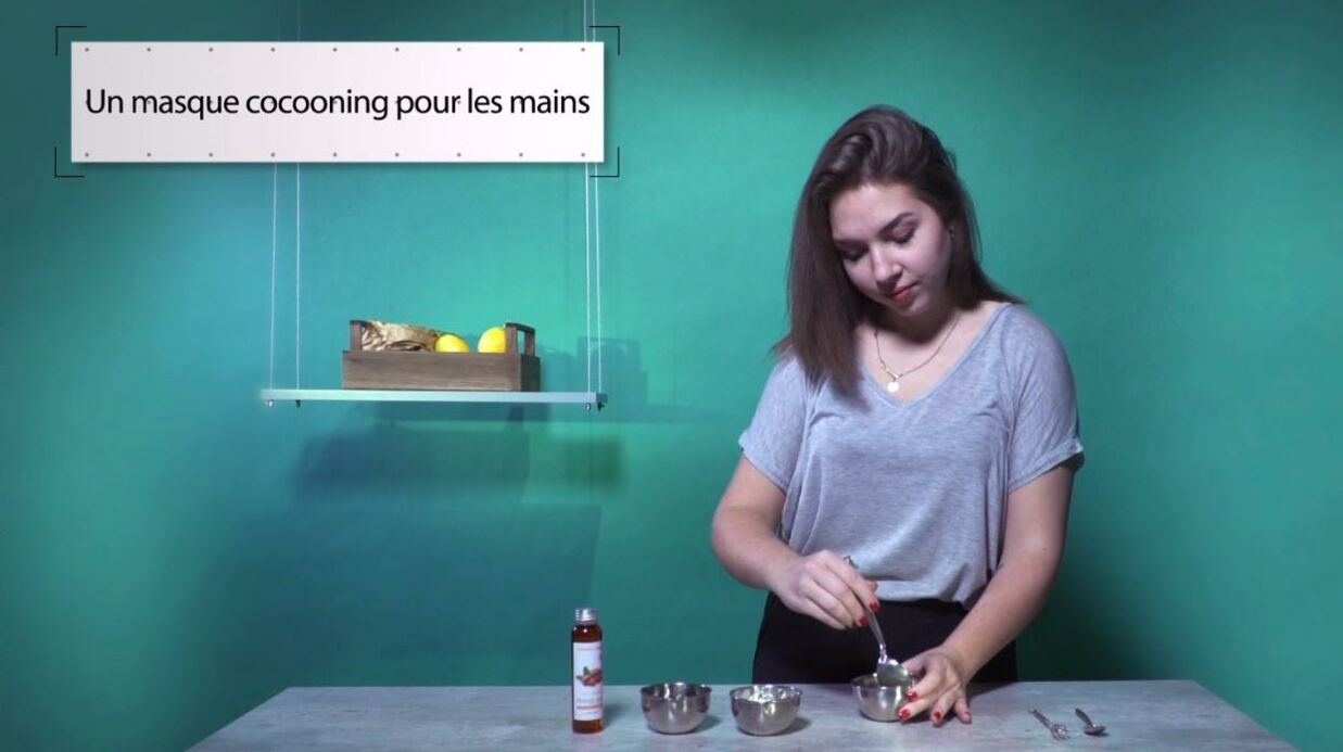 VIDEO LA MINUTE DIY: Comment fabriquer une crème réparatrice pour les mains sèches en hiver