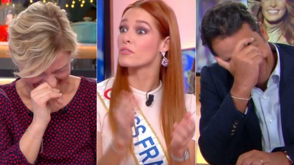 VIDEO Maëva Coucke: voilà ce que les anciennes Miss France s'écrivent dans les toilettes de leur appartement