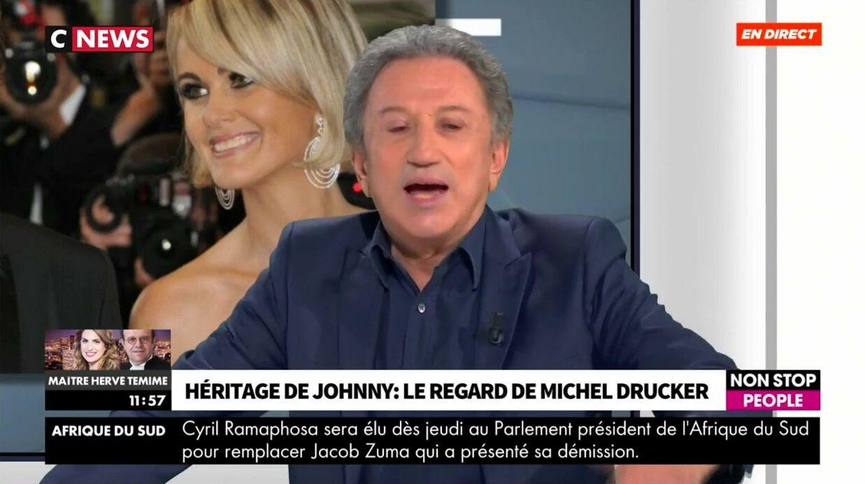 VIDEO Héritage Johnny Hallyday: Michel Drucker réagit pour la première fois à la polémique du testament