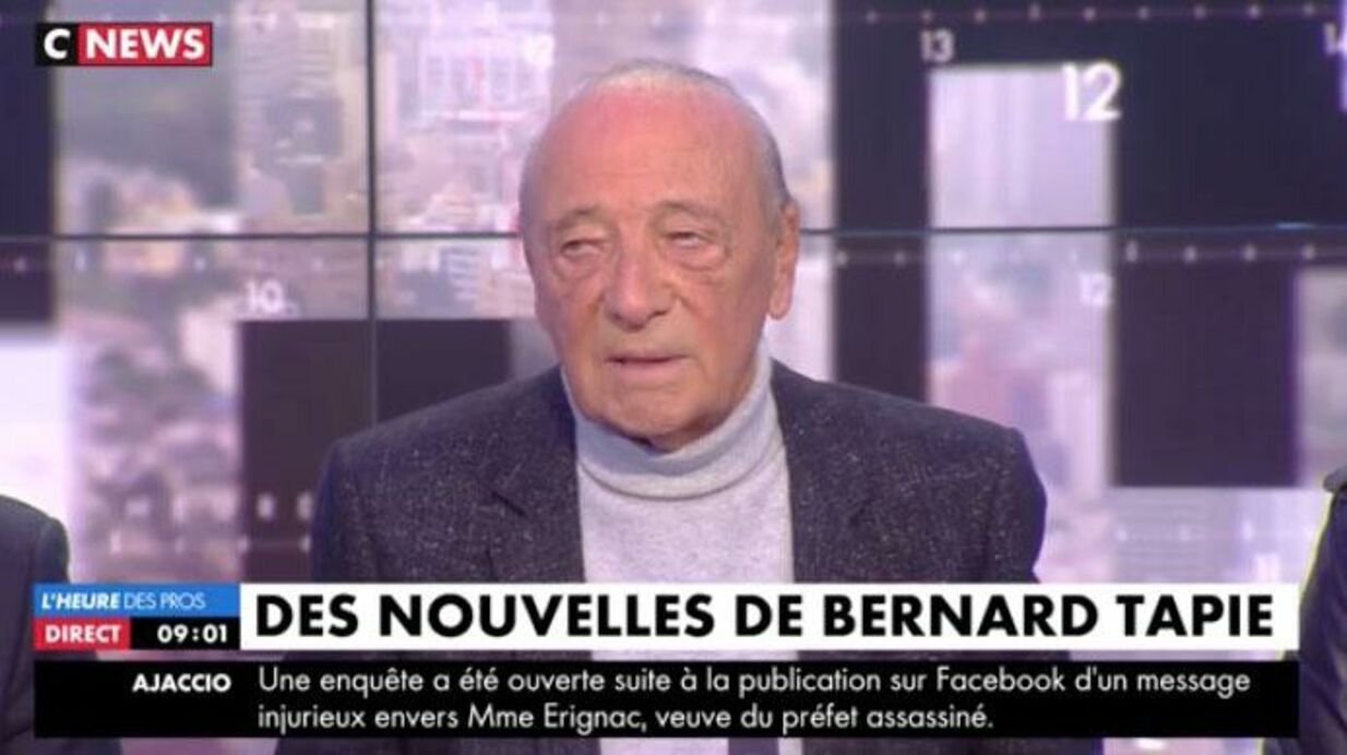 VIDEO Bernard Tapie malade: Jacques Séguéla donne des nouvelles peu rassurantes