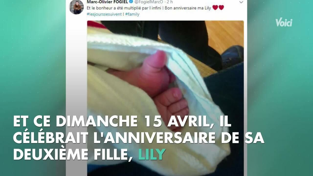 Voici Photo Marc Olivier Fogiel Son Tendre Message Pour Lanniversaire De Sa Fille Mila