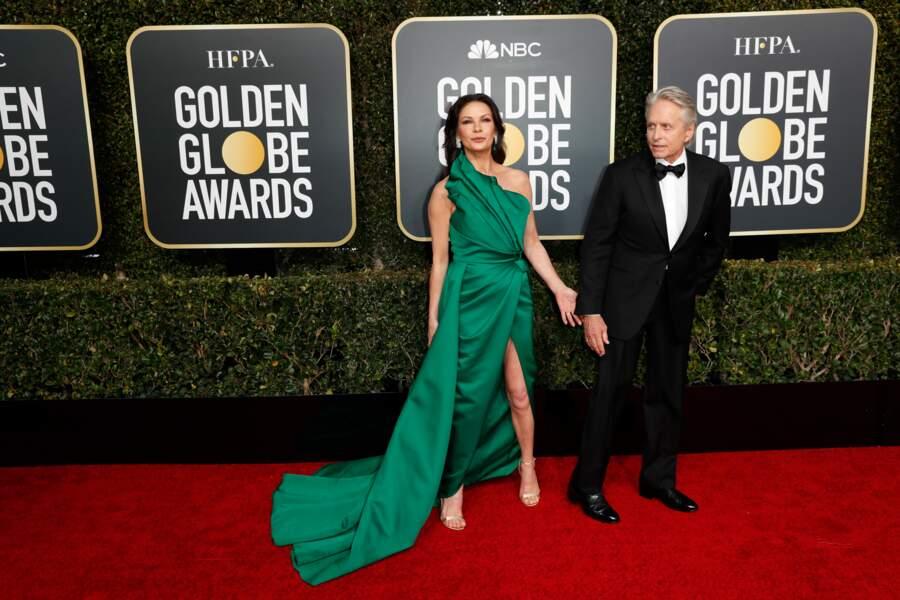 76ème cérémonie des Golden Globes : Catherine Zeta-Jones et Michael Douglas