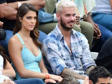 Iris Mittenaere et M Pokora très complices à Roland Garros