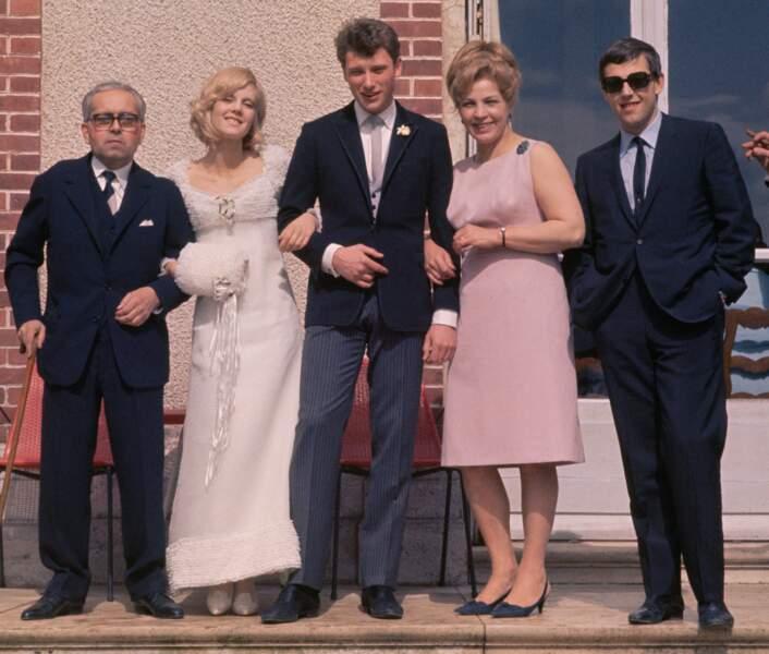 12 avril 1965 : le mariage de Johnny Hallyday et Sylvie Vartan