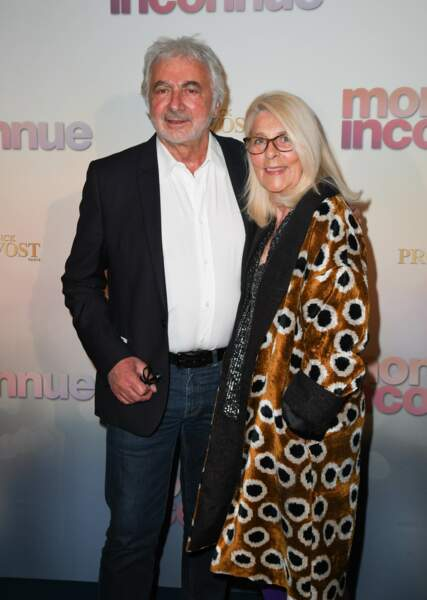 Franck Provost et sa femme Natacha à l'avant-première de Mon Inconnue, le 1er avril, à Paris