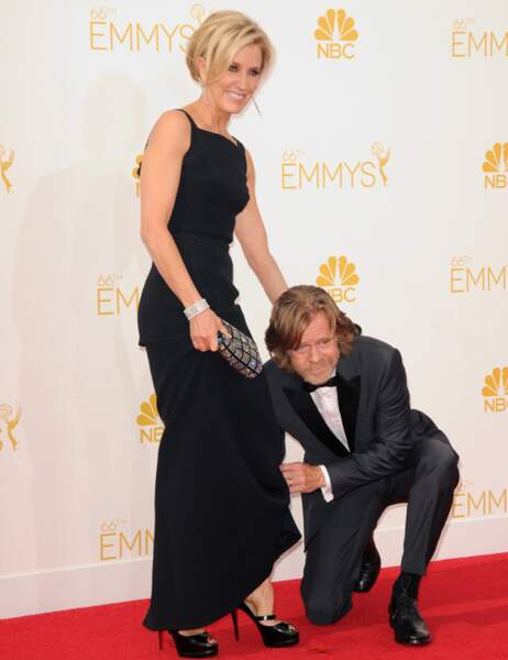 Cela fait un bail que Felicity Huffman a trouvé chaussure à son pied (avec son mari William H. Macy aux Emmys)