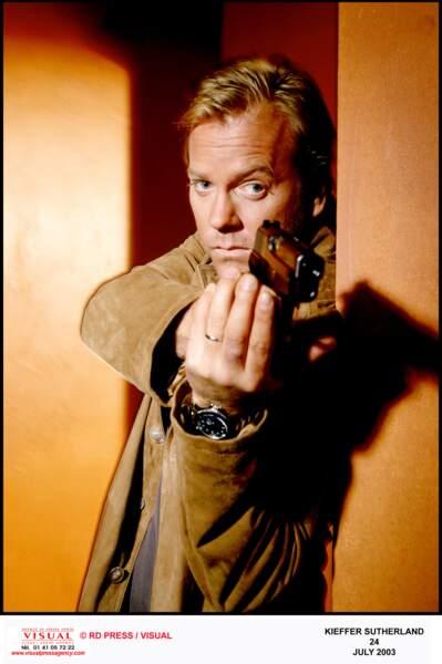 Kiefer Sutherland était le héros de 24 Heures et tuait tous les méchants, mais c'est lui que son partenaire...