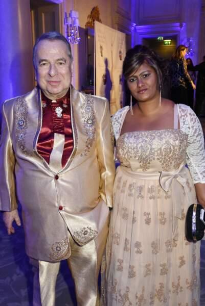 40ème Best Awards : Qui a dit à Paul-Loup Sulitzer et Supriya Rathoar que c'était une bonne idée de s'assortir ?
