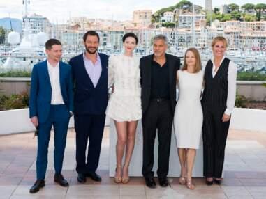 Cannes 2016 : Julia Roberts et George Clooney inséparables au photocall de Money Monster