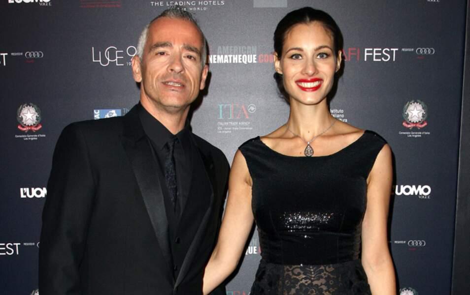Eros Ramazzotti et Marica Pellegrinelli