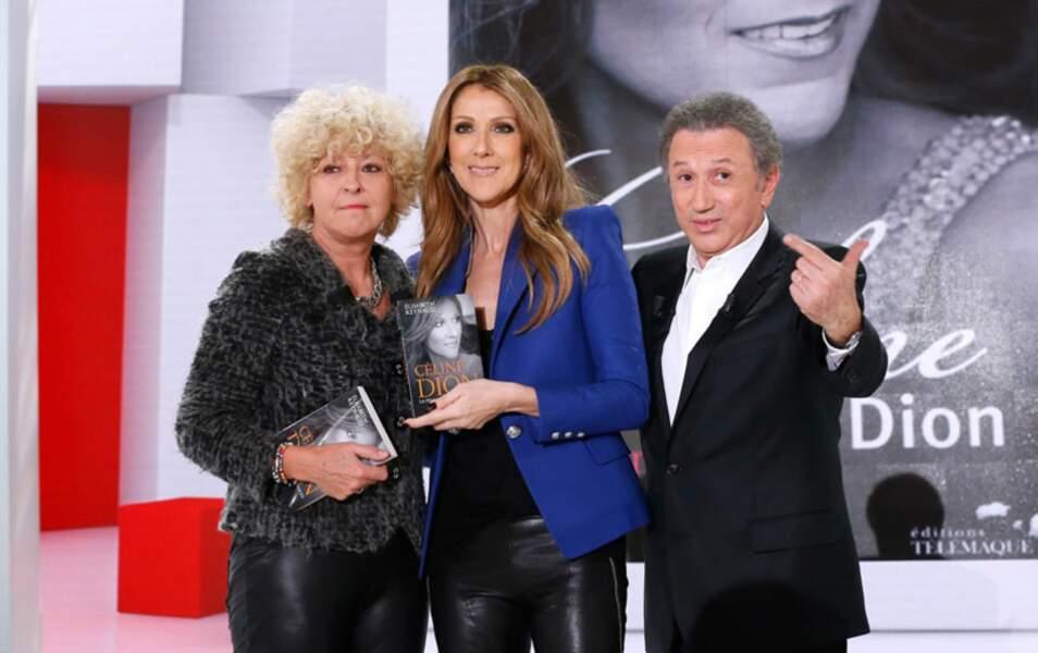 Céline Dion à Vivement Dimanche