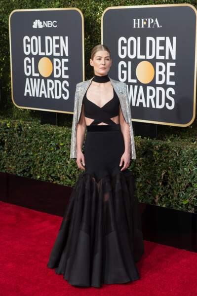 76ème cérémonie des Golden Globes : Rosamund Pike