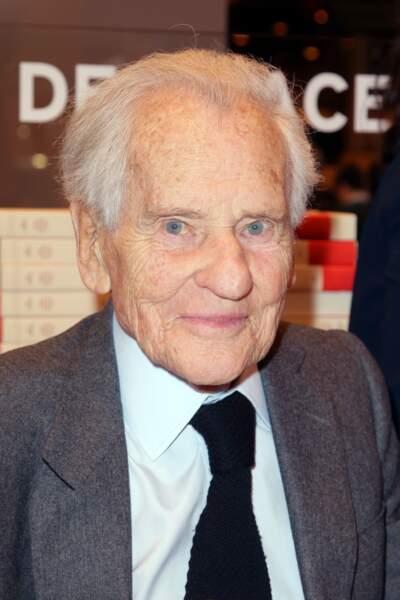 Rétro 2017 - Mort de Jean d'Ormesson, écrivain, à 92 ans