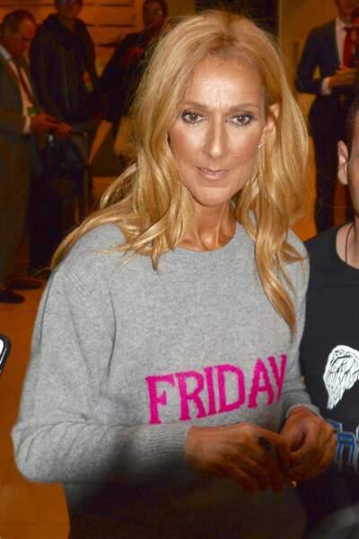 Céline Dion rencontre son public australien après le concert du 27 juillet