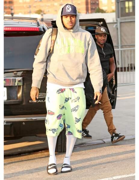 Chris Brown, c'est quoi ce look ?!
