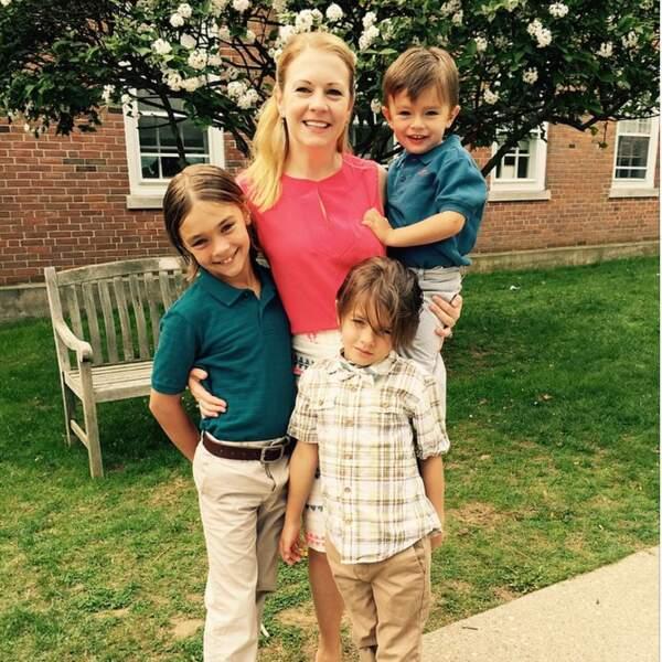 Melissa Joan Hart et ses enfants