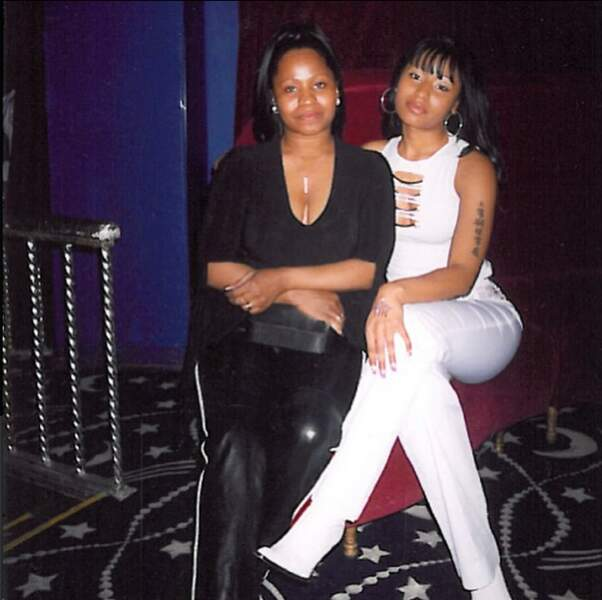 Nicki Minaj avec sa mère
