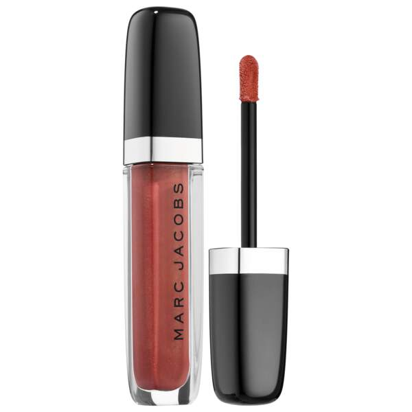 Laque lèvres ultra-brillante Enamored, Love Drunk, Marc Jacobs Beauty, 27,50 €