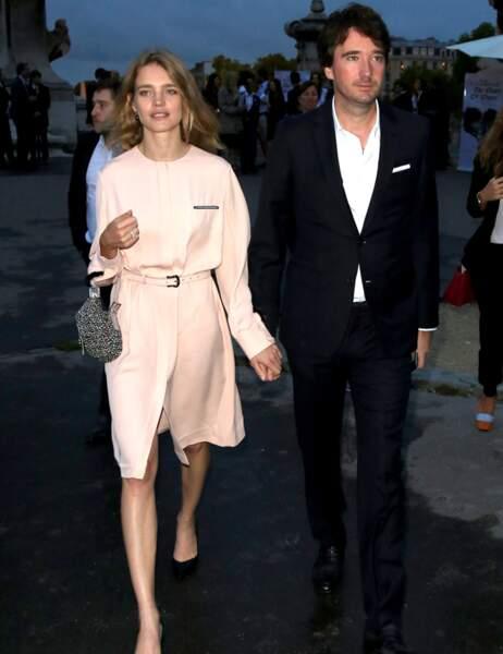 Antoine Arnault et sa compagne Natalia Vodianova