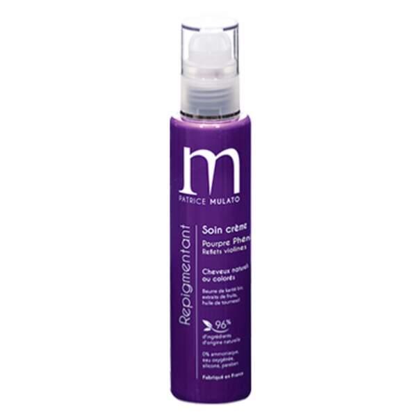 Ultra-Violet :  Soin crème repigmentant pourpre phénicien, Patrice Mulato, 21 euros les 200 ml