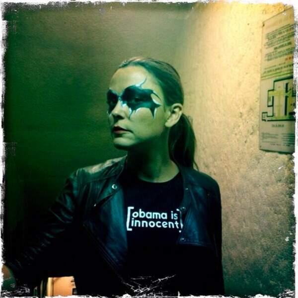 Sandrine Quétier est devenue chanteuse de rock