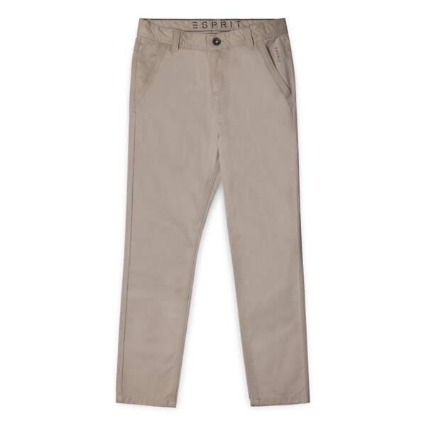 Pantalon. En coton et viscose, du 8 au 16 ans, à partir de 39,99 €, Esprit Kids