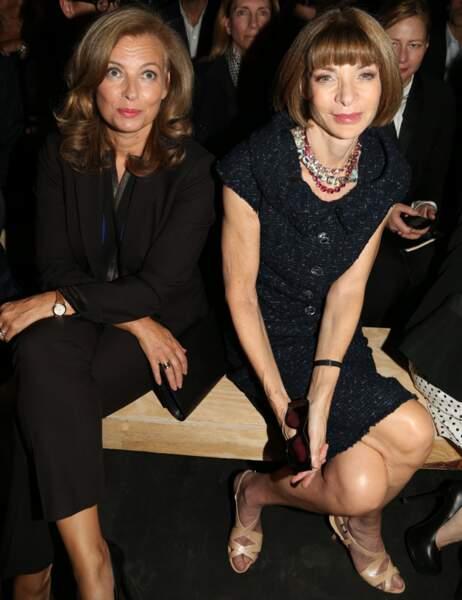 Valérie Trierweiler et Anna Wintour