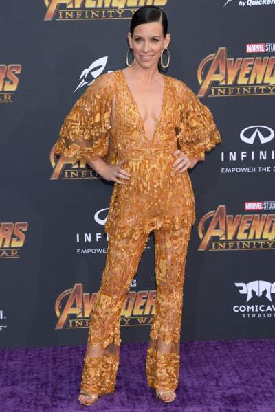 Première mondiale d'Avengers: Infinity War -Evangeline Lilly