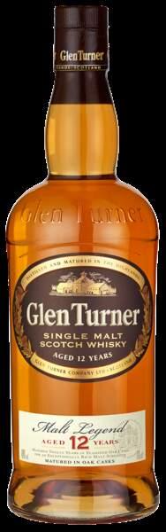 Whisky écossais. 22 €, Glen Turner (l'abus d'alcool est dangereux pour la santé. A consommer avec modération)