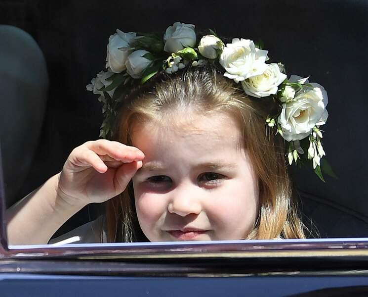 La princesse Charlotte trop craquante au mariage du prince Harry et de Meghan Markle