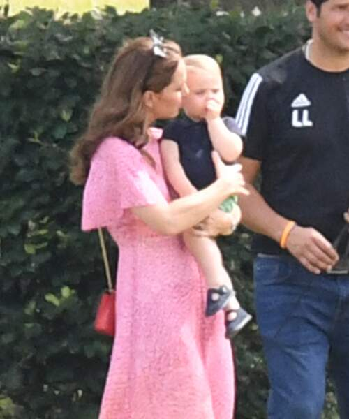 Kate Middleton et le prince Louis